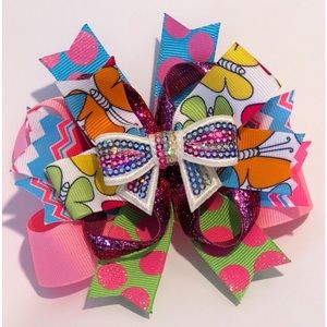 Other - Colorful hair bow
